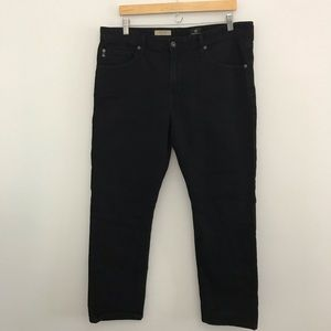 AG Jeans 38x30 Graduate Tailored Leg Black Pants